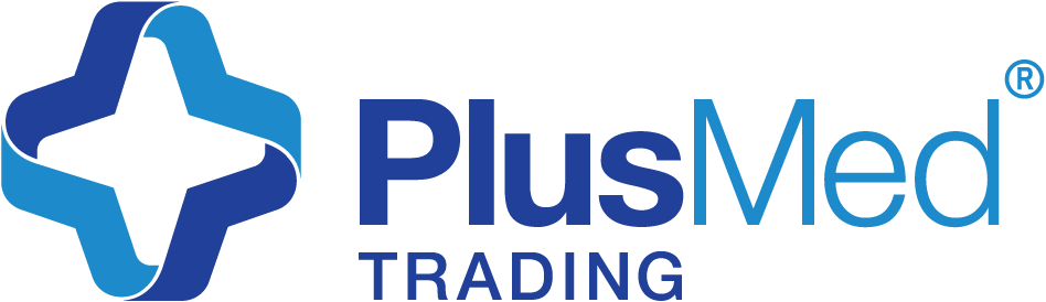 this is PlusMed Trading logo